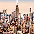 New York Skyline Panorama by Mihai Andritoiu