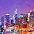 New York City - Skyline by Samuel Majcen