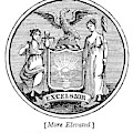 New York State Seal by Granger