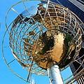 New York Steel Globe by Jenny Hudson