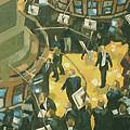 New York Stock Exchange by Gloria Nilsson