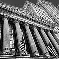 New York Stock Exchange Wall Street Nyse Bw by Susan Candelario