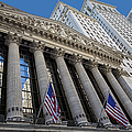 New York Stock Exchange Wall Street Nyse  by Susan Candelario