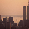 New York Sunset by Shaun Higson