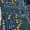 New York Taxi Rush Hour by New York