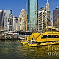 New York Water Taxi by Zbigniew Krol