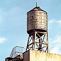 New York Water Tower 1 - New York Scenes  by Gary Heller