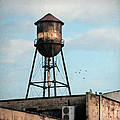 New York Water Tower 7 by Gary Heller