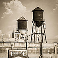 New York Water Tower 8 - Williamsburg Brooklyn by Gary Heller