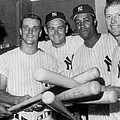 New York Yankee Sluggers by Underwood Archives