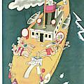 New Yorker August 13th, 1927 by Julian de Miskey