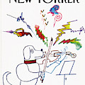 New Yorker August 23rd, 1982 by Saul Steinberg
