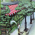 New Yorker August 27th, 1955 by Arthur Getz