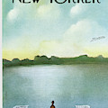 New Yorker February 5th, 1972 by Saul Steinberg