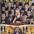 New Yorker January 25th, 1993 by Edward Sorel