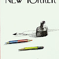 New Yorker January 6th, 1975 by Saul Steinberg