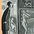 New Yorker January 9th, 1954 by Peter Arno