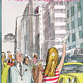 New Yorker July 8th, 1972 by Charles Saxon