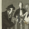 New Yorker March 11th, 1950 by Peter Arno