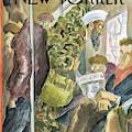New Yorker March 3rd, 2003 by Edward Sorel