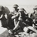 New Zealanders In Libya Eat Lunch by Everett