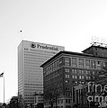 Newark  New Jersey In Black And White by Paul Ward