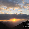 Newfound Gap Sunrise - D008233 by Daniel Dempster