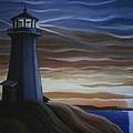 Newfoundland Lighthouse by Scott White
