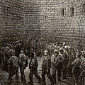 Newgate Prison Exercise Yard by Gustave Dore