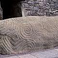 Newgrange Entrance Kerb by Cynthia Wallentine