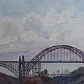 Newport Bay Bridge I by Jenny Armitage