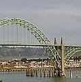 Newport Bay Bridge by Susan Garren