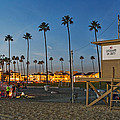 Newport Beach At Dusk by Kelley King