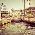 Newport Beach Balboa Island Ferry Dock Photo by Paul Velgos