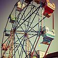 Newport Beach Ferris Wheel In Balboa Fun Zone Photo by Paul Velgos