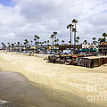 Newport Beach Oceanfront Businesses With Dory Fleet by Paul Velgos
