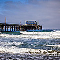 Newport Beach Pier In Orange County California by Paul Velgos
