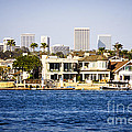 Newport Beach Skyline And Waterfront Homes Picture by Paul Velgos