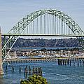 Newport Bridge by Wes and Dotty Weber