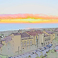 Newport Coast Sunset by Penny Lisowski