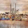 Newport Rhode Island Harbor II by Betsy Knapp