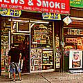 News And Smoke - Play Here by Miriam Danar