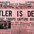 News From The Past Hitler Is Dead by Saundra Myles