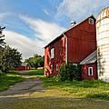 Newtown Barn by Bill Wakeley