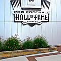 Nfl Hall Of Fame by Frozen in Time Fine Art Photography
