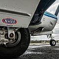 Nhra Airplane by Andy Crawford