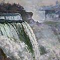 Niagara American Falls 2 by Ylli Haruni