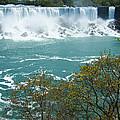 Niagara - American Falls In Spring by Phil Banks