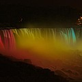 Niagara Falls A Glow by Dave Files