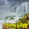American Falls Niagara Cave Of The Winds by LeeAnn McLaneGoetz McLaneGoetzStudioLLCcom